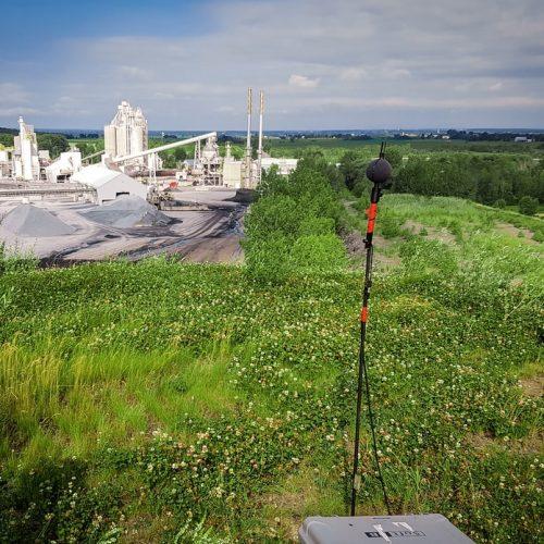 Mesure du bruit environnemental