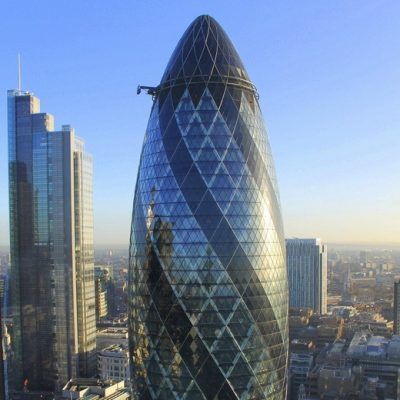 SWISS RE – The Gherkin in London, UK