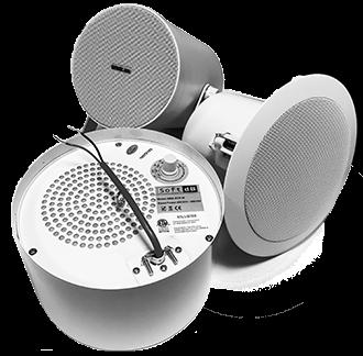 Sound Masking Loudspeakers