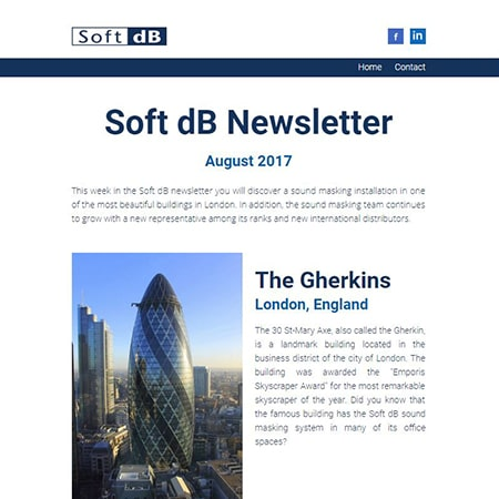 Soft dB Newsletter August 2017