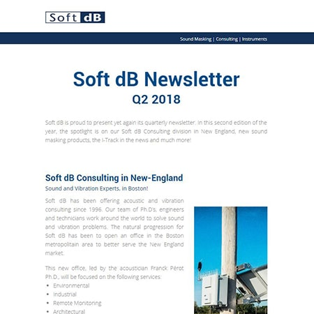 Soft dB Newsletter Q2 2018
