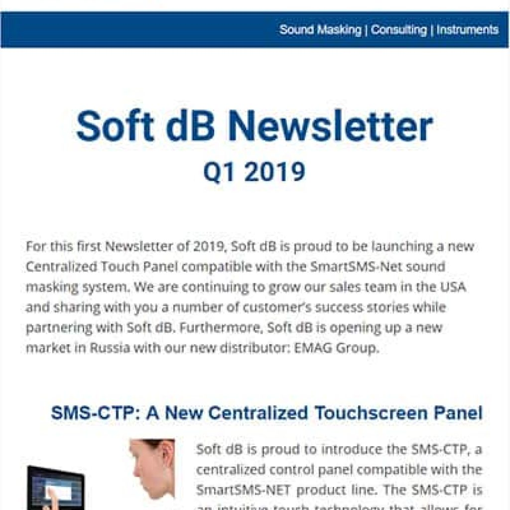 Soft dB Newsletter Q1 2019