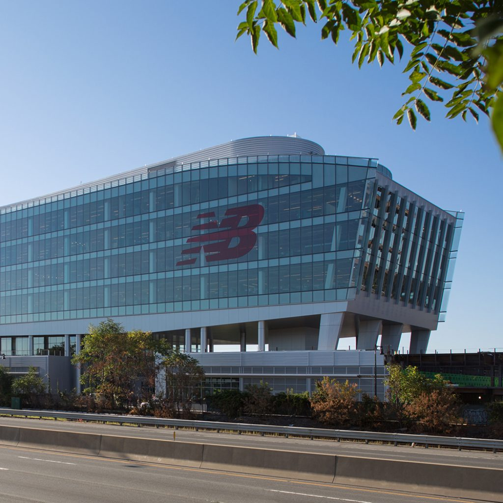 New Balance Headquarters in Boston
