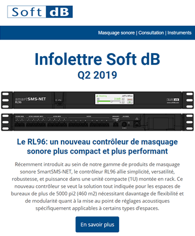 Infolettre Soft dB Q2 2019
