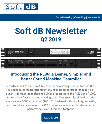 Soft dB Q2 2019 Newsletter