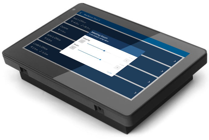 SMS-CTP Centralized Touchscreen Control Panel