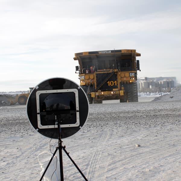 Contrôle du bruit à la mine Canadian Malartic