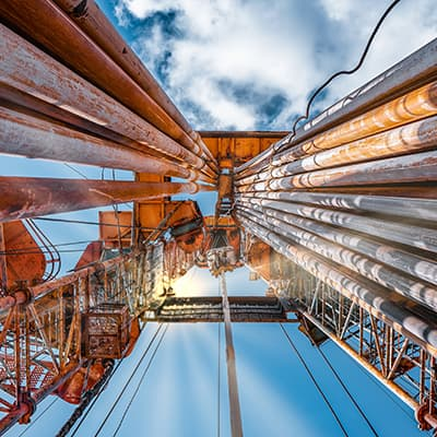 Noise control in shale gas installations